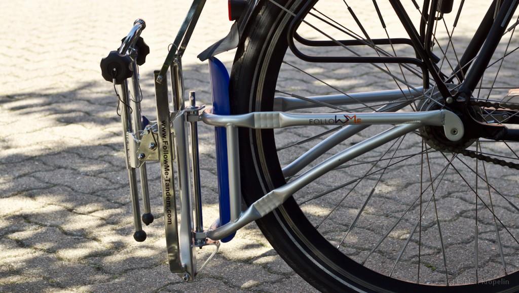 FollowMe in Transportstellung ohne Kinderfahrrad