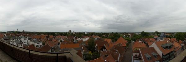 Panoramablick Hafen
