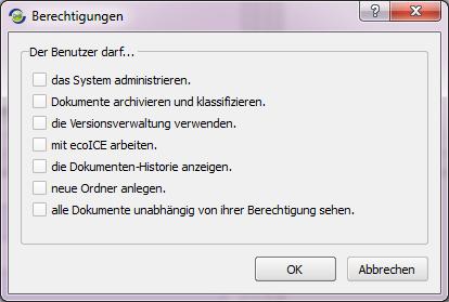 ecoDMS_Berechtigungen